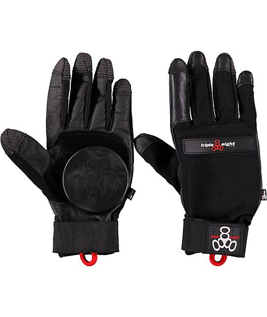 Take your skating to the next level and go for something a little more extreme in the Triple 8 Downhill slide gloves.