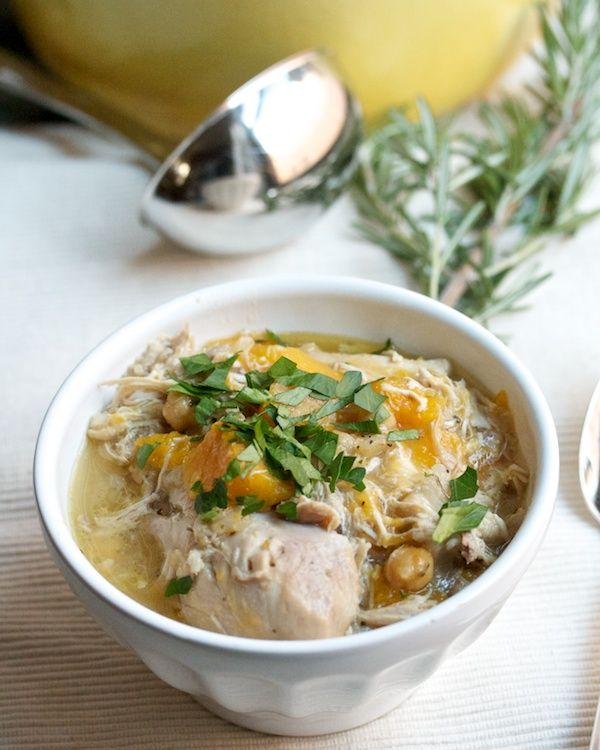 Provencal Chicken Stew with Butternut Squash & Chickpeas