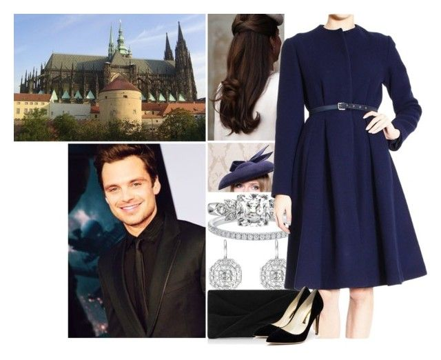 """Attending a christmas day church service at St Vitus Cathedral with her family"" by princess-katharina ❤ liked on Polyvore featuring LINLEY, Penny Preville, Reiss and Rupert Sanderson"