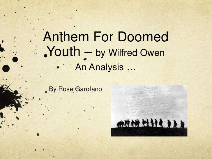 insensibility wilfred owen analysis pdf