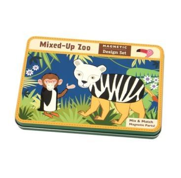 Kids Toys to You - Magnetic Design Mixed up Zoo Mix and match the animals in this portable magnetic play set neatly packaged in a hinged tin. $29 www.kidstoystoyou.com.au