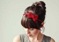 Haarband mit Schleife | DIY LOVE
