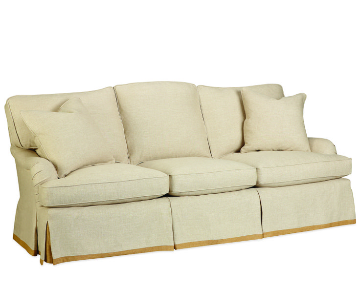 Lee Industries sofa in a neutral color