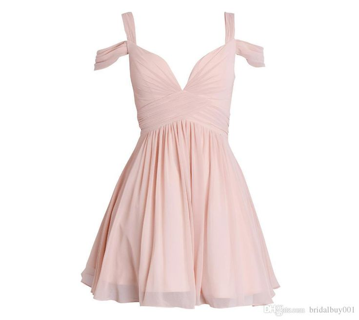 2016 Short Mini Homecoming Dresses Blush Pink Chiffon Sweetheart Pleated Petite Prom Gowns For Junior Cheap Bridesmaid Dress Teens Sexy Dresses Vintage Dresses From Bridalbuy001, $59.36| Dhgate.Com