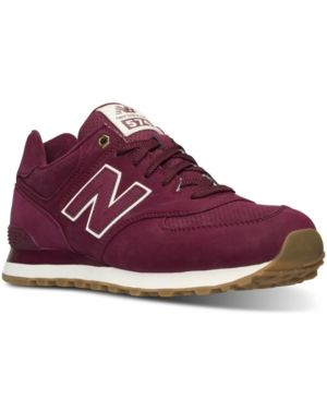 New Balance Men's 574 Outdoor Boots from Finish Line - Red