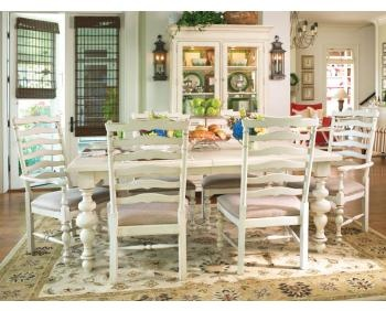 How to turn you med/dark wood furniture to look like Paula Dean White Dining Set.