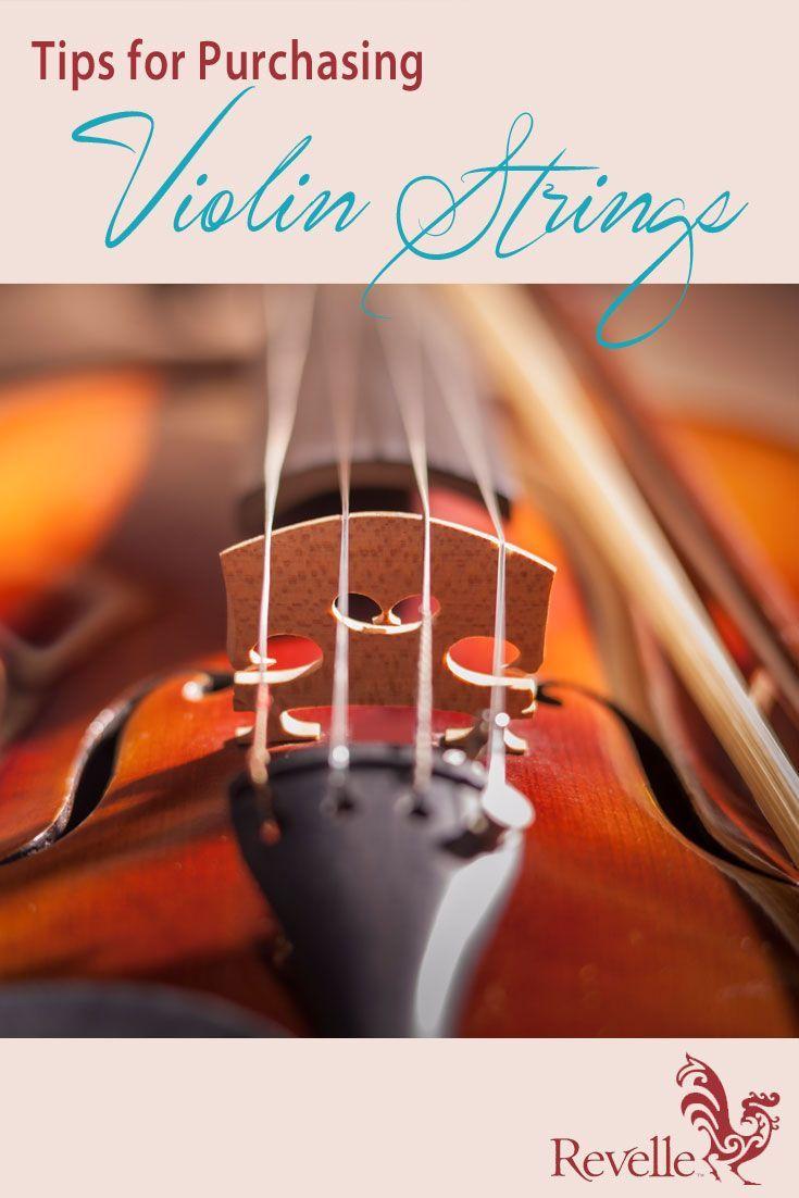 These 3 tips will help beginner violin students make the best string selection. http://www.connollymusic.com/revelle/blog/violin-strings-purchasing-tips /revellestrings/