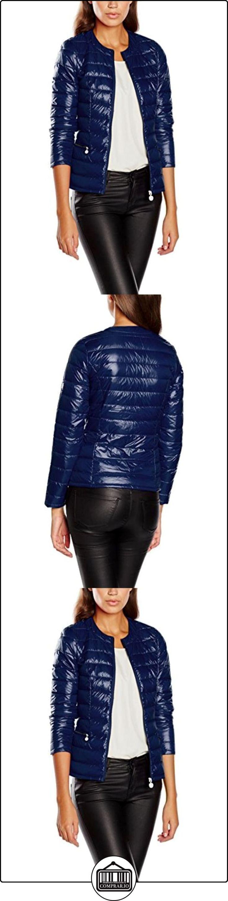 Morgan Gatop.N, Impermeable para Mujer, Azul, 40  ✿ Abrigos y chaquetas ✿