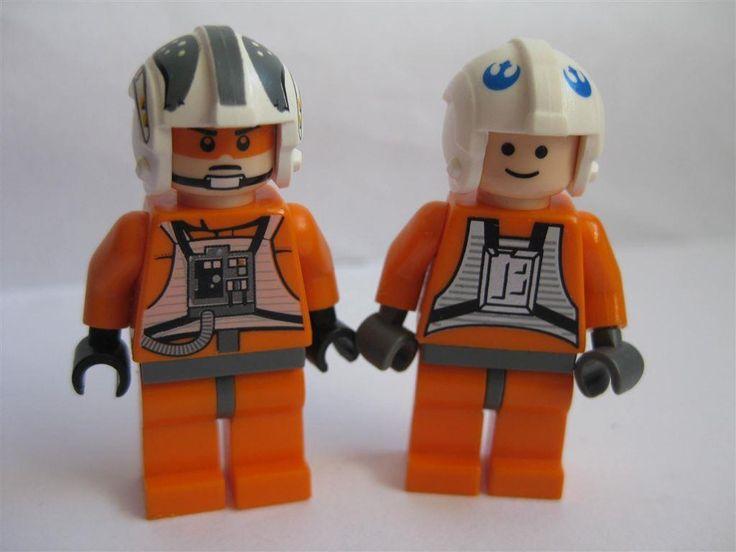 Lego Figurer Star Wars - Zev + Pilot AUK198-10 på Tradera.com - Övriga