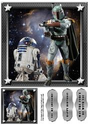 StarWars Card Front Sheet 9