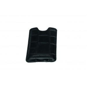 Black croco iphone 4G soft case