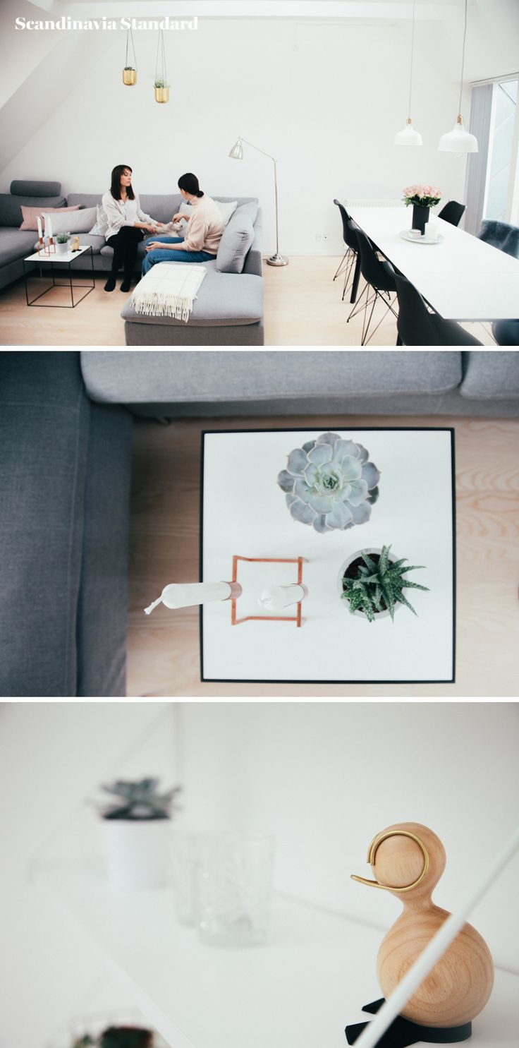 The White Room - Christina & Ulrich's Østerbro Apartment - Interiors - Collage 2 | Scandinavia Standard