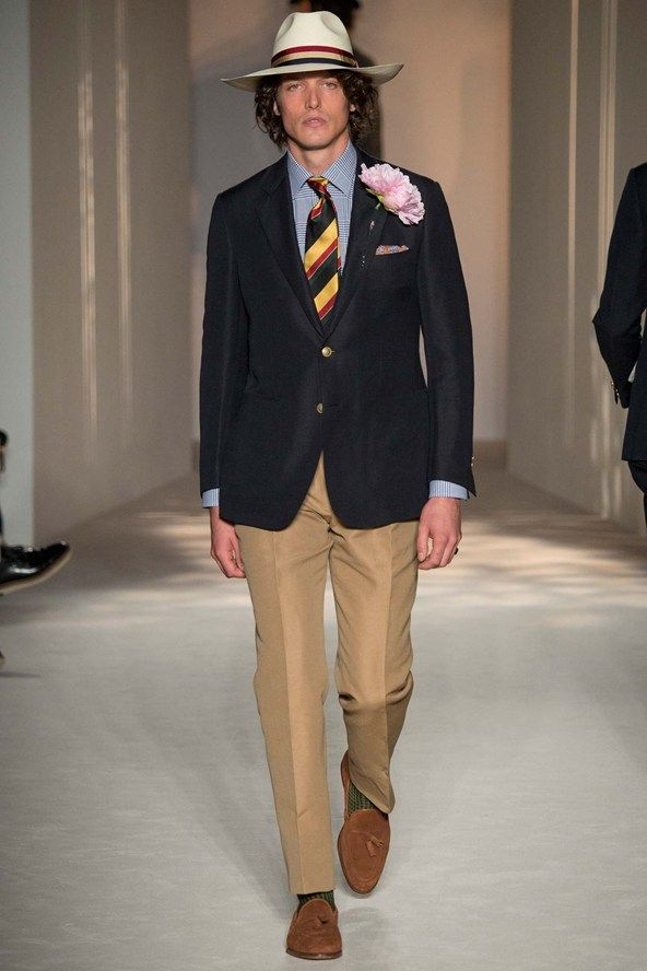 See the Dunhill spring/summer 2016 menswear collection. Click through for full gallery