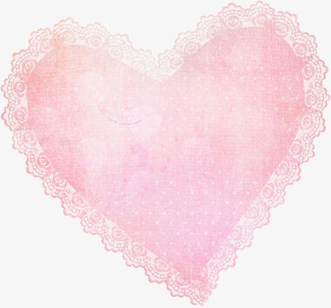 Pink Lace Heart Lace Heart Pink Lace Lace