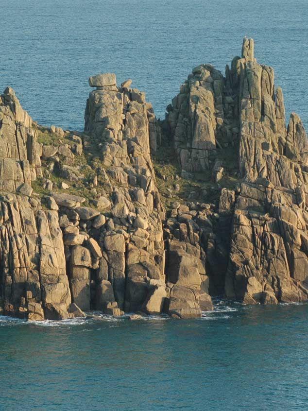 Logan Rock - Cornwall, UK