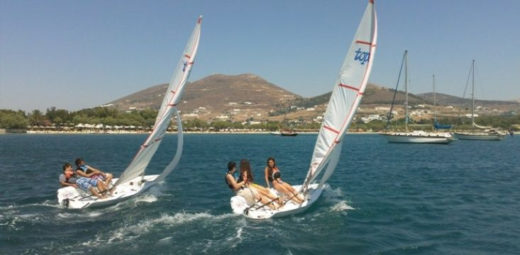 Sailing courses for kids in Paros!
