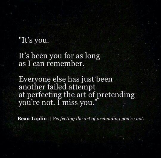 Beau Taplin | Perfecting the art of pretending you're not.