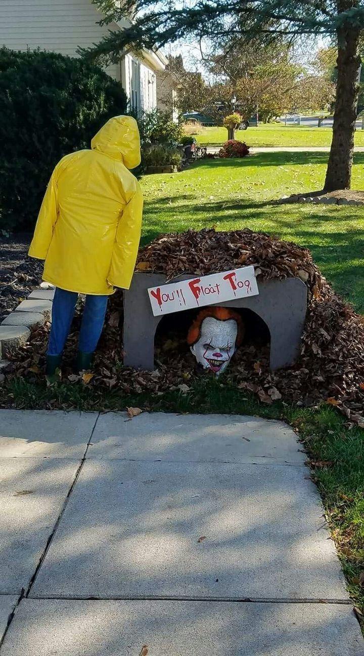 20 kreative Möglichkeiten Halloween Outdoor Dekorationen Diy Yards ...