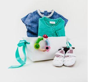 Подарочный комплект для очаровательной малышки!