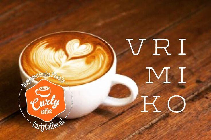 Het is vrijdag! Tijd voor koffie. Vrijdagmiddag koffie! #vrimiko  #Koffietijd #tgif #vrijdag #vrimibo #genieten #koffiewinkel #loveit #cappuccino #espresso #zwolle #totzo