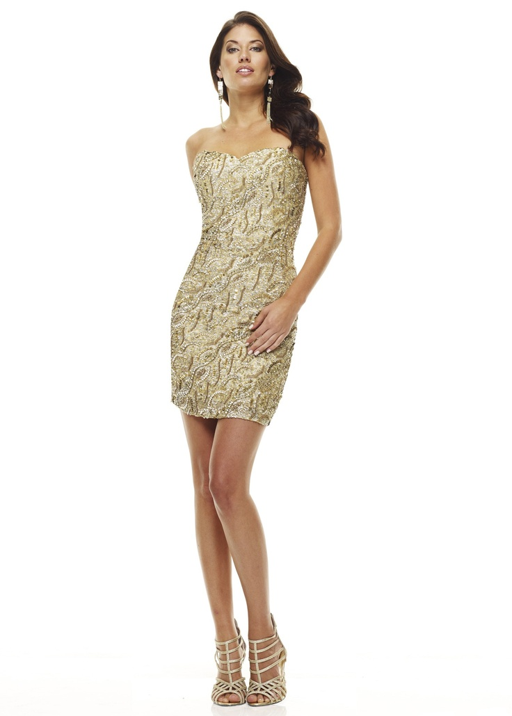 110 best 2dayslook - Gold Dress images on Pinterest | Bridal gowns ...