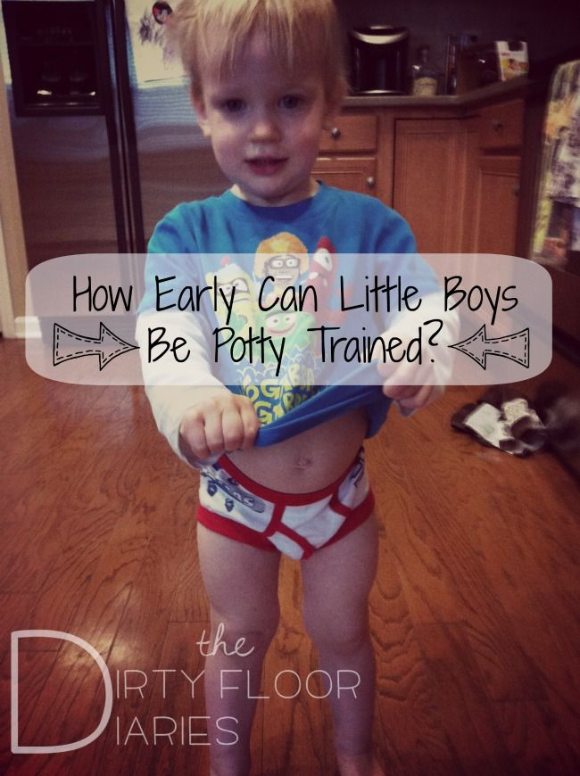 How early can you potty train your son?