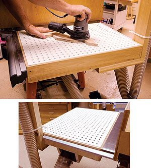Strange Downdraft Sanding Table Plans Woodworking Projects Plans Interior Design Ideas Inesswwsoteloinfo