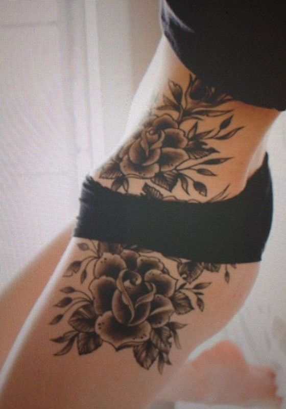Cool Tattoos For Girls On Hip