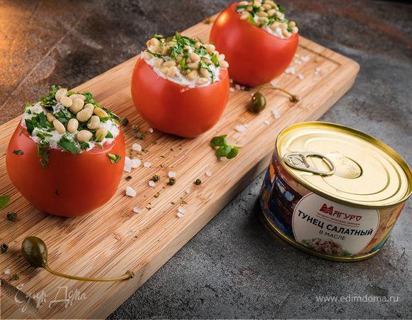 Помидоры, фаршированные тунцом | Кулинарный сайт Юлии Высоцкой: рецепты с фото