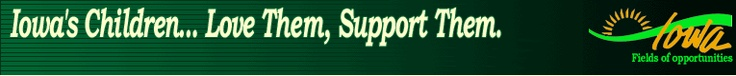 Iowa Child Support payment list. Check when and how much the non-custodial parent has paid.