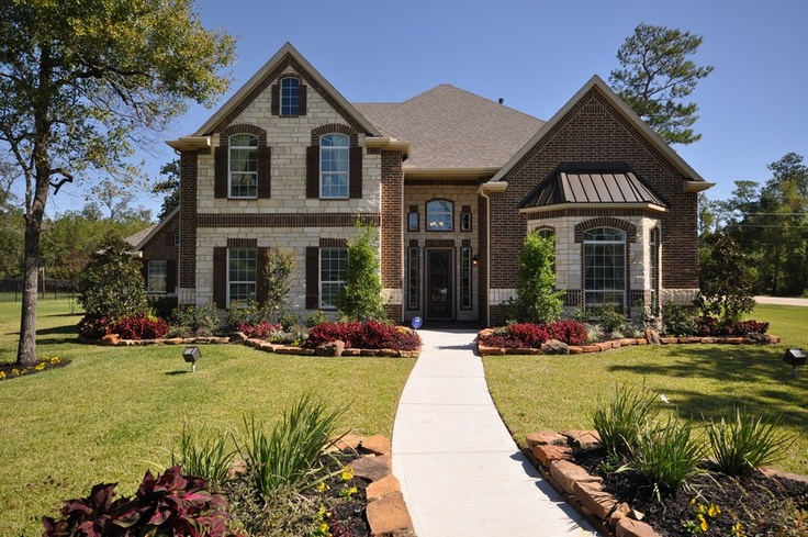 Stone and brick home exterior combination www - Stone brick exterior combinations ...