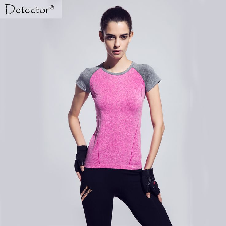 Detector Dry Quick gym t shirt compression tights women's sport t shirts running short sleeve t-shirts fitness women t-shirts♦️ B E S T Online Marketplace - SaleVenue ♦️👉🏿 http://www.salevenue.co.uk/products/detector-dry-quick-gym-t-shirt-compression-tights-womens-sport-t-shirts-running-short-sleeve-t-shirts-fitness-women-t-shirts/ US $25.00