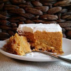 Pumpkin Crunch - The best Thanksgiving Dessert Ever, if try this, cut butter in half!