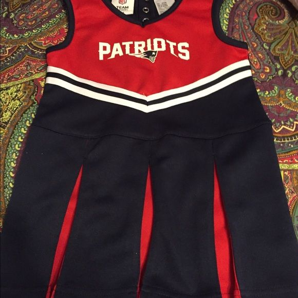 NFL Patriots Cheerleader outfit size 3t Patriots cheerleader outfit worn once for 10 mins.. Size 3T NFL Other