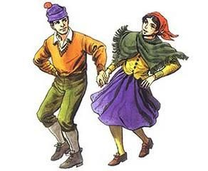 Baile originario de Chiloé, sin embargo se cree que los arrieros la trajeron de la zona argentina quedándose en Chile.