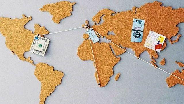 Mapa Mundi de corcho adhesivo para tus recuerdos viajeros 1