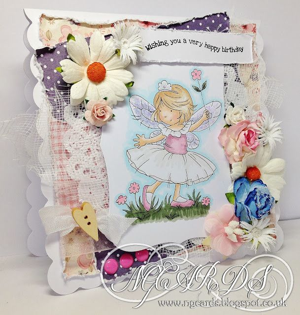 LOTV - Flower Fairy with Dress Shoppe Paper Pad by Natalie Grantham