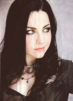 Evanescence was one of my favorite bands. I guess they still are, I just don't listen to them as much as I used to. Anyway, I've always thought Amy Lee's creativity was amazing, like with her lyrics and the fact she designs her own costumes. I'm definitely straight, but I consider her to be my number 1 girl crush.