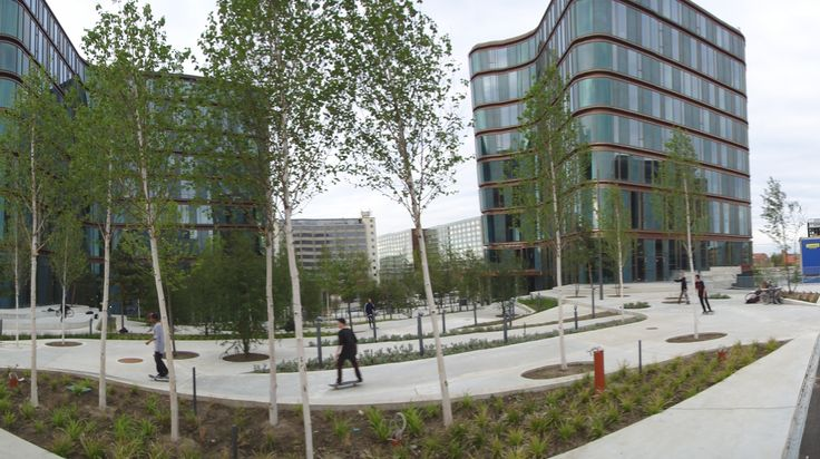 city dune seb bank by sla landscape architecture landscape design