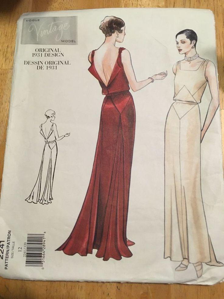 Berühmt Vogue Kleid Vintage Hochzeit Muster Galerie - Brautkleider ...