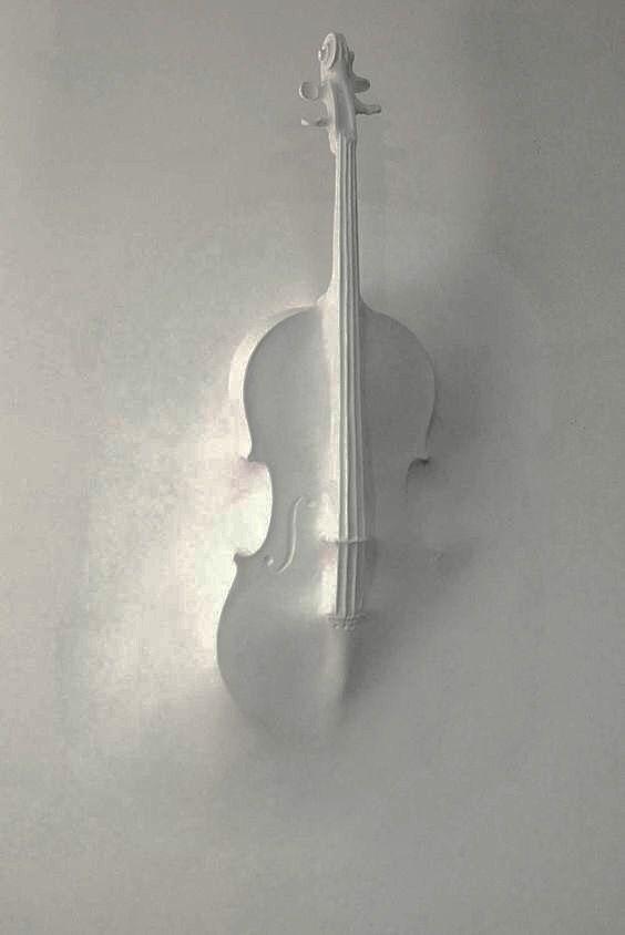 Musical instruments as an idea for a wall mural / Музыкальные инструменты как идея для росписи стен.