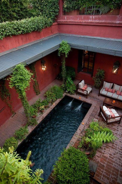 hermoso patio