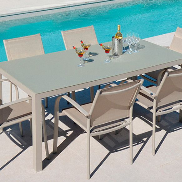 Table De Jardin In 2020 With Images Outdoor Furniture Sets Outdoor Furniture Outdoor Decor