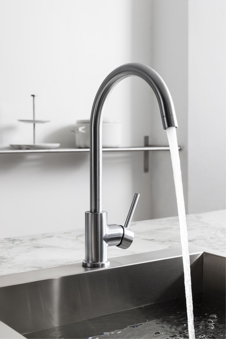 The Depiction Of Cutting Edge Design   Tropic Side Lever Kitchen Mixer Tap  From Crosswater.