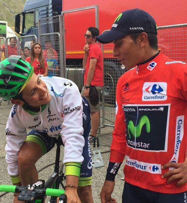 Dirán: La que hemos armado ! El Chavito y Nairo en Vuelta a España 2016