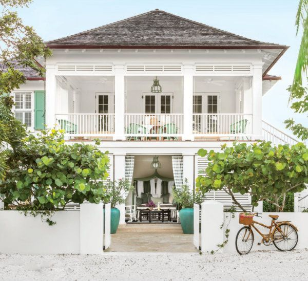 My inspiration for the week is this breathtaking Caribbean beach house.