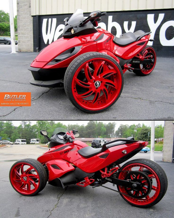 Tricked Out Can Am Spyder Can Am Pinterest Bikes