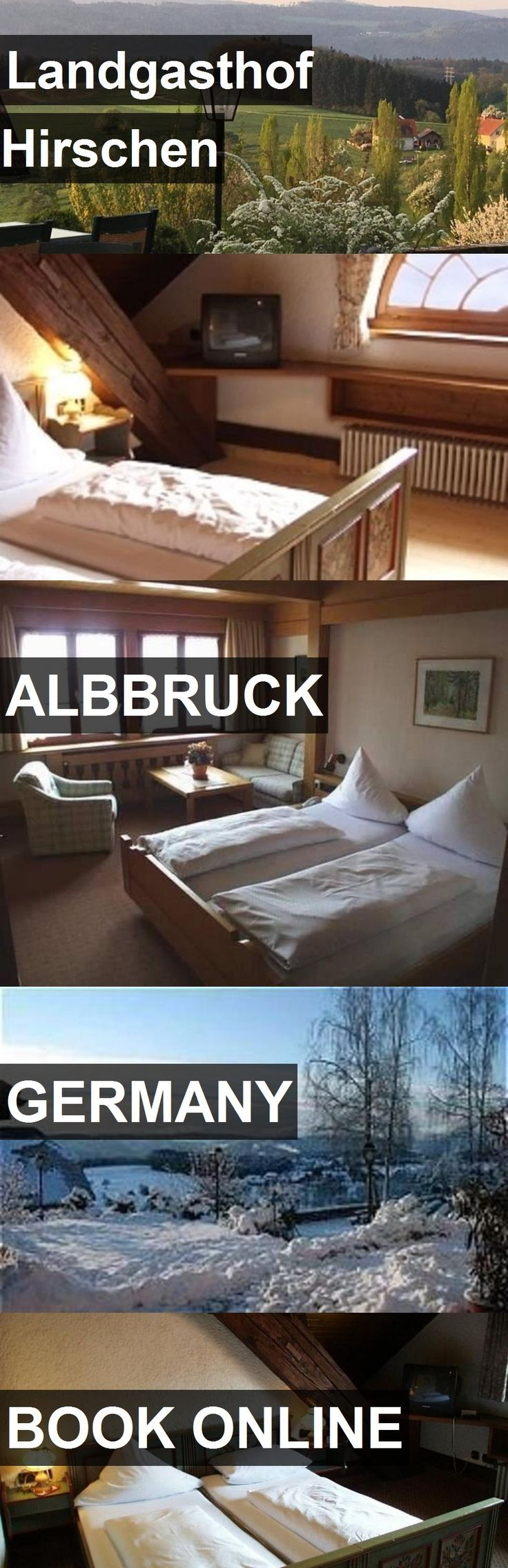 Hotel Landgasthof Hirschen in Albbruck, Germany. For more information, photos, reviews and best prices please follow the link. #Germany #Albbruck #travel #vacation #hotel