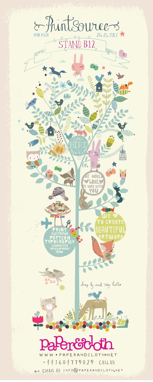printsource poster 2013 by paperandcloth