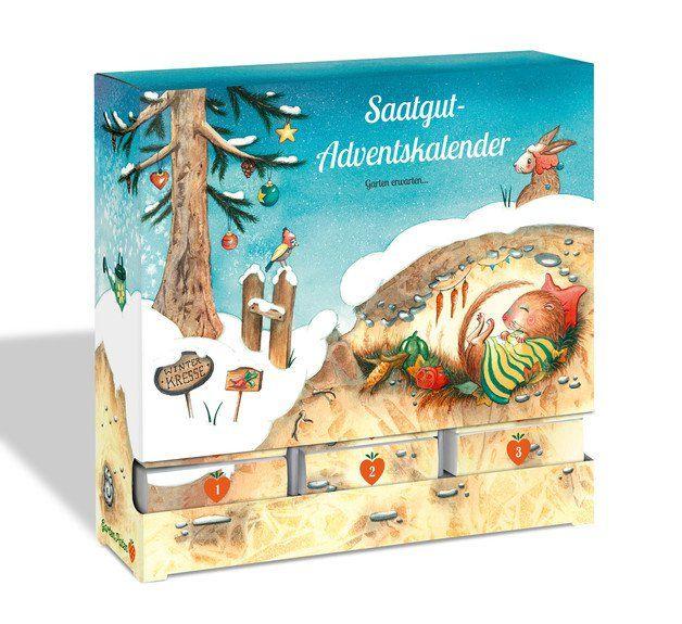 Adventskalender - Saatgut-Adventskalender von Gartenpaten - ein Designerstück von Gartenpaten bei DaWanda